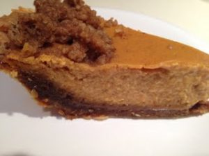 Gingersnap Pumpkin Pie