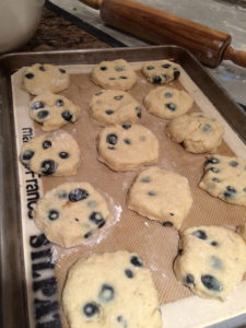 Blueberry Biscuits 2