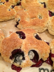 Blueberry Biscuits 3