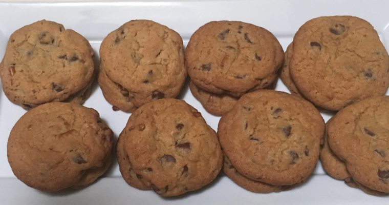 Treat Tuesday-Chocolate Chip Pretzel Cookies