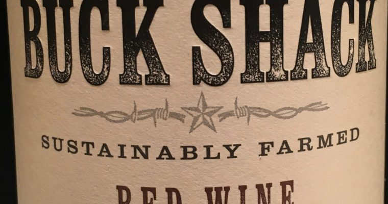 Wine of the Week-Ye Old Buck Shack Red Wine