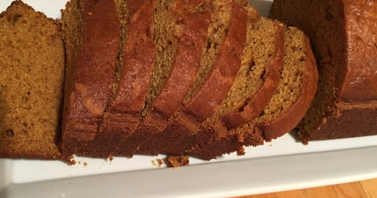 Treat Tuesday-Pumpkin Bread