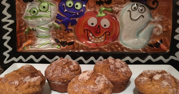 Treat Tuesday-Pumpkin Apple Muffins